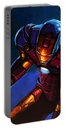 Iron Man Portable Battery Charger by Paul Meijering