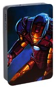 Iron Man Portable Battery Charger