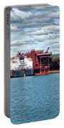 Iron Ore Loading Onto Laker Portable Battery Charger