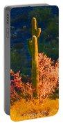 Ironwood Saguaro Dance - Bold Portable Battery Charger