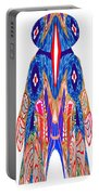Is That A Head Or A Hat ??  Alien Fineart Graphic Whimsical Rohrshoc Abstract By Navinjoshi Portable Battery Charger