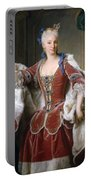 Isabella Farnese. Queen Of Spain Portable Battery Charger