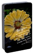 Isaiah 40.8 Portable Battery Charger