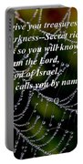 Isaiah Scripture  Portable Battery Charger