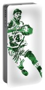 Isaiah Thomas Boston Celtics Pixel Art 5 Portable Battery Charger