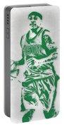 Isaiah Thomas Boston Celtics Pixel Art Portable Battery Charger