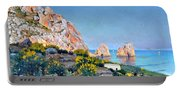 Island Of Capri - Gulf Of Naples Portable Battery Charger
