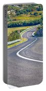 Island Of Pag Curvy Road Portable Battery Charger