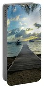 Island Sunset Portable Battery Charger