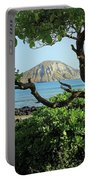 Island Through The Trees Portable Battery Charger