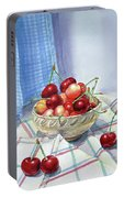 It Is Raining Cherries Portable Battery Charger
