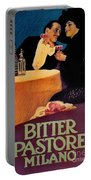 Italian Bitters Ad 1913 Portable Battery Charger