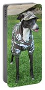 Italian Greyhound Army Portable Battery Charger