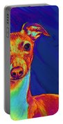 Italian Greyhound  Portable Battery Charger by Jane Schnetlage