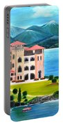 Italian Landscape-casino Royale Portable Battery Charger