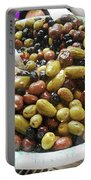 Italian Market Olives Portable Battery Charger