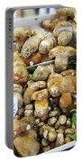 Italian Market Porcini Mushrooms  Portable Battery Charger