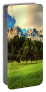 Italian Mountain Meadow Portable Battery Charger