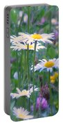 It's A Daisy Kind Of Day Portable Battery Charger