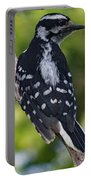 I've Got Your Back - Female Downy Woodpecker Portable Battery Charger