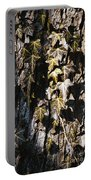 Ivy Leaves Grunge Tone Portable Battery Charger