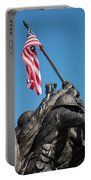 Iwo Jima 1945 - War Memorial, Cape Coral, Florida Portable Battery Charger