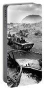 Iwo Jima Beach Portable Battery Charger