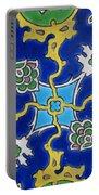 Iznik Tiles In Topkapi Palace Istanbul  Portable Battery Charger