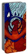 Izzet Experience Or Mana Counter Portable Battery Charger