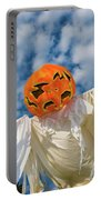 Jack-o-lantern Man Portable Battery Charger