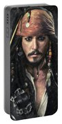 Jack Sparrow Portable Battery Charger