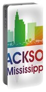 Jackson Ms Portable Battery Charger by Angelina Vick
