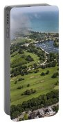 Jackson Park Golf Course In Chicago Aerial Photo Portable Battery Charger