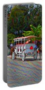 Jackson Square Horse And Buggies Portable Battery Charger