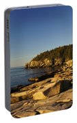 Jagged Coast Of Maine Portable Battery Charger