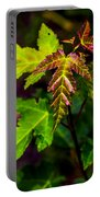 Jagged Leaves Portable Battery Charger