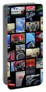 Jaguar Car Art -01 Portable Battery Charger