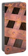Rusty Jailhouse Door Portable Battery Charger