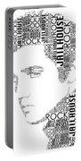 Jailhouse Rock Elvis Wordart Portable Battery Charger