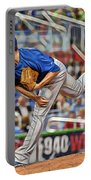Jake Arrieta Chicago Cubs Pitcher Portable Battery Charger