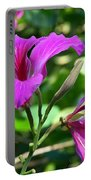 Jamaican Bloom Photograph   Portable Battery Charger
