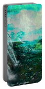 Jamaican Waterfall Portable Battery Charger