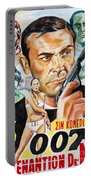 James Bond Dr.no 1962 Portable Battery Charger