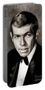James Coburn, Vintage Actor Portable Battery Charger