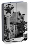 James Dean On Route 66 Portable Battery Charger