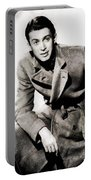 James Stewart, Hollywood Legend By John Springfield Portable Battery Charger