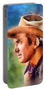 James Stewart, Vintage Hollywood Legend Portable Battery Charger