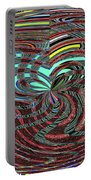Janca Abstract Ovoid Panel 9646w9a Portable Battery Charger