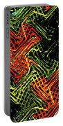 Janca Abstract Panel #5473w3 Portable Battery Charger