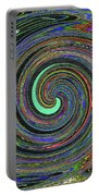 Janca Abstract Panel #5473w4 Portable Battery Charger